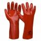 №78 Перчатка МБС красная удлиненная (10 пар/уп)