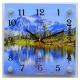 """2525-767 Часы настенные """"21 Век"""" """"Озеро в горах"""""""