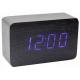 Настольные часы VST-863-5 СИНИЙ USB (декоративные с датой и температурой)