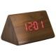 Настольные часы VST-864-1-КРАСНЫЙ USB / ET011 red  (декоративные с датой и температурой)