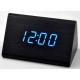 Настольные часы VST-864-5-СИНИЙ USB (декоративные с датой и температурой)
