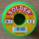 Олово (B-1) 63% D1mm/40g. желтое/0,8мм (1/20)