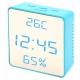 Настольные часы VST-887Y-5-Синий USB (декоративные)
