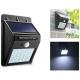 Светильник с солнечной панелью 609-20SMD /встроенн 18650/датчик света