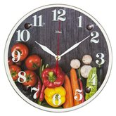 """3030-013 (10) Часы настенные """"Овощи для гурмана"""""""