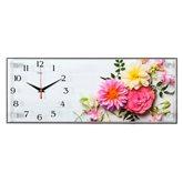 """5020-008 (5) Часы настенные """"Маленькие цветочные радости"""""""