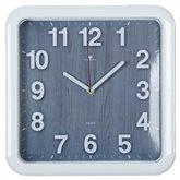 "7667-78 (10) Часы настенные квадрат 29х29см, корпус белый ""Эко"" ""Рубин"""
