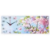 """5020-026 Часы настенные """"Яблони цветут"""" """"Рубин/21 Век"""" (5)"""