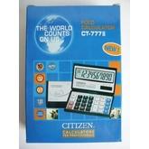 Калькулятор  CITIZEN CT- 777 раскладная