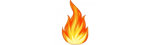 Зажигалки, газ, бензин, плиты
